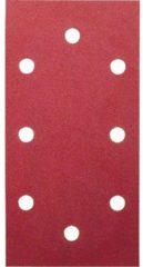 Bosch Schleifblatt-Set für Schwingschleifer, 10-teilig, DIY, 8 Löcher r, 93 x 185, 60 VPE: 5