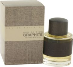 Montana Graphite Oud Edition 100 ml - Eau De Toilette Spray Herenparfum