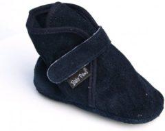 Marineblauwe Baby Paws babyslofjes Wallis Navy Suede maat 5 = ( 13,5 cm)