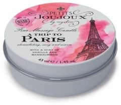 Petits Joujoux Massagekaars A Trip to Paris - 33gr