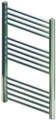 BWS Designradiator Boss & Wessing Vertico Multirail 80x50 cm Chroom Zij-Onderaansluiting