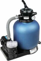 Monzana Zandfiltersysteem 11.000 l/uur Voorfilter 30 l tank + 25 kg Filterglas - Zwembad