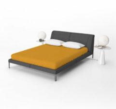Suite Sheets - Jersey Hoeslaken - Okergeel - 200 x 200 cm