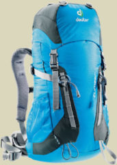 Deuter Climber Kinder Alpin-Rucksack Volumen 22 turquoise-granite