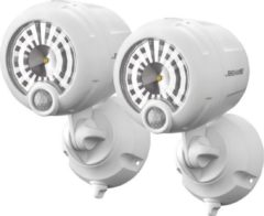 Mr Beams beveiligingsverlichting XT Spotlight Zwart 2-Pack