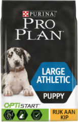 Pro Plan Puppy Large Athletic OptiStart - Rijk aan Kip - Hondenvoer - 12 kg