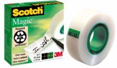 Bruna Onzichtbaar plakband Scotch Magic 810 19mmx33m