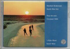 's Rijks Munt Nederland Jaarset Munten 1994 FDC - Friesland