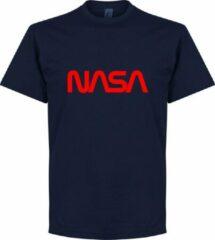 Marineblauwe Retake NASA T-Shirt - Navy - 3XL