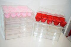 Paarse Alina's Make up box - longlife rozen