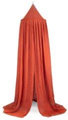 Oranje Jollein klamboe Vintage 245 cm Rust