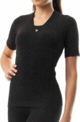 Antraciet-grijze Thermische T shirt Silverskin