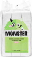 Etude House Monster Cleansing Cotton 408pcs 408 pc 408pcs