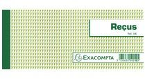 Exacompta Bonboekje ontvangstbewijzen 50 bladen - Horizontaal formaat 9x13cm - Franstalig (10E)