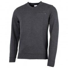 Zwarte We Norwegians - Basetwo V-Neck Sweater - Merino trui maat XL zwart