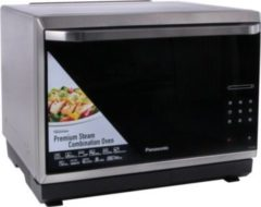Panasonic Mikrowelle NN-CS894SEPG, Mit Grill und Heißluft,32 Liter, 1000 Watt