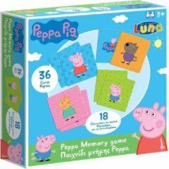 Luna Memoryspel Peppa Pig Junior 36-delig