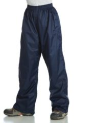 Donkerblauwe Regatta Kids Pack-It - Regenbroek - Kinderen - 104 - Midnight Blue