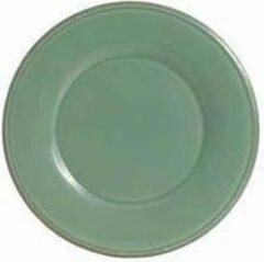 Coté Table Constance ontbijt / dessert bord - 4 stuks - 23,5cm - sage groen