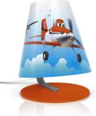 Blauwe Philips Disney Planes - Tafellamp - LED - Oranje