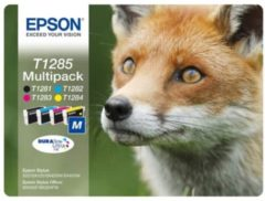 Epson T1285 - Inktcartridge / Cyaan / Magenta / Geel / Zwart