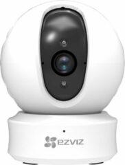 Witte Eve Audio 360 Indoor 720p HD beveiligingscamera's, draadloze panning, kantelcamera met nachtzicht, tweewegs audio, ip camera huisdier, babyfoon, smart tracking, slim privacymasker, cloudservice beschikbaar