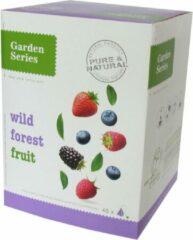 Bosvruchten Thee - Wild Forest Fruits - Garden Series Box (48 piramidebuiltjes)