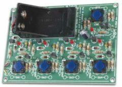 Velleman MK133 LED-bouwpakket Uitvoering (bouwpakket/module): Bouwpakket 9 V/DC