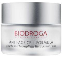 Biodroga Anti-Aging Pflege Anti-Age Cell Formula Straffende Tagespflege für trockene Haut 50 ml