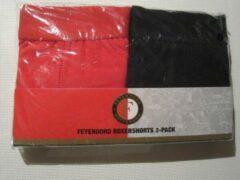Rode Feyenoord Boxershorts 2 pack 140-146