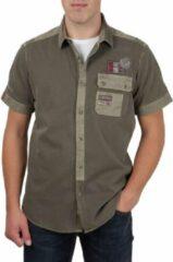 Camp David ® Shirt groen Label