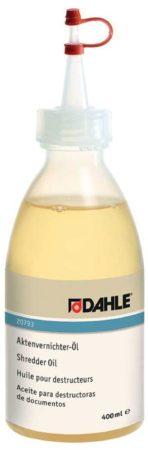 Afbeelding van Dahle olie voor papiervernietigers, flacon van 400 ml