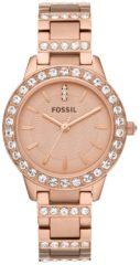 Fossil ES3020 Analoog Dames Quartz horloge