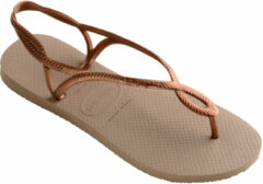 Roze Havaianas Luna Rose Gold Dames Slippers - Rose Gold - Maat 39/40