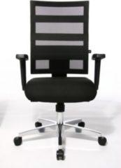 Topstar Designer Bürostuhl X-PANDER AL. T2 Netzstoff schwarz