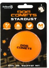 Dog Comets Dog Comets Ball Stardust Medium - Hondenspeelgoed - Oranje