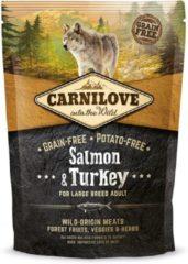 Brit Carnilove Large breed hondenvoer Zalm & Kalkoen 1,5kg