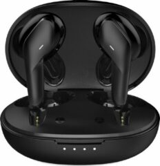 Tuddrom T19 Zwart - Wireless Earbuds Oordopjes met Powerbank Opbergdoos - Polymer Composite Diaphragm Drivers - Bluetooth 5.0 - IPX5 Waterdicht - 2 Jaar Garantie