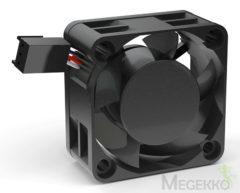 NoiseBlocker BlackSilent Pro PC-ventilator Zwart (b x h x d) 40 x 40 x 20 mm