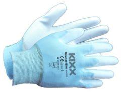 Blauwe Kixx Handschoenen Kixx Tuinhandschoenen - Balance Blue - Maat 9