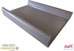 Steff - aankleedkussen - met opstaande randen 70x50 cm - bruin taupe - kwaliteitslabel OEKO-TEX standard 100