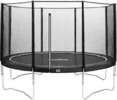Antraciet-grijze Top Twence Salta Combo 427 cm Antraciet - Trampoline