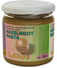 Monki Hazelnootpasta Eko (330g)