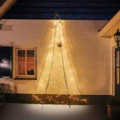 Zwarte Wand-Weihnachtsbaum Fairybell® - 4 m hoch
