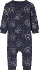 Blauwe Name it baby pyjama onesie Mickey 68