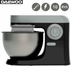 Zwarte Daewoo SYM-1410: Keukenmachine - Kitchenaid - Antraciet - Keukenmixer - Met Accessoires - 700W - Foodprocessor - Keukenrobot