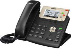 Yealink SIP-T23G Vaste VoIP-telefoon Headsetaansluiting, Handsfree TFT/LCD-kleurendisplay Zwart