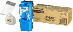 Blauwe KYOCERA TK-820 tonercartridge cyaan standard capacity 7.000 paginas 1-pack
