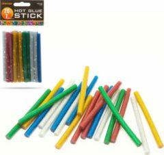 HANDY - Lijmpistool Vullingen Glitter - Lijmpatronen 7MM Rond - 100MM Lang - Lijm Patronen voor Lijmpistool O.A. Handy Lijmpistool
