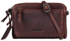 Bruine Burkely Schoudertas damestas ANTIQUE AVERY | MINI BAG Bruin
